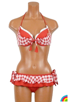 BETSEY JOHNSON GINGHAM : レッド - 235540_40_01.jpg