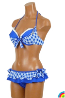BETSEY JOHNSON GINGHAM : ブルー - 235540_80_02.jpg