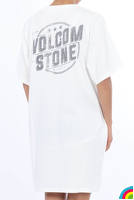 VOLCOM Boy Friend Boxy Dress : WHITE - B35217JA_WHT_02.jpg