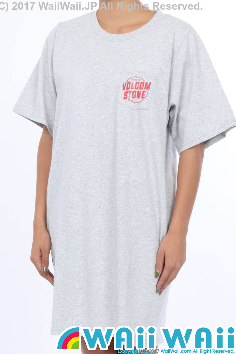 VOLCOM Boy Friend Boxy Dress : HEATHER GREY - B35217JA_HGR_01.jpg