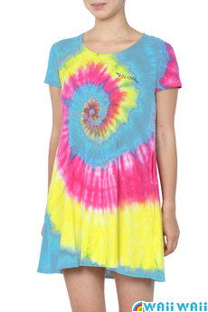 ボルコム Funny Dye Tee Dress